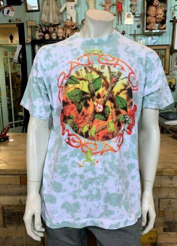 1993 Vintage Grateful Dead Shirt RAINFOREST GREEN
