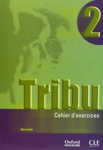TRIBU-2-PACK-CUAD-EJERCICIOS-CD-AUDIO-FRANCES-SIN-ESTRENAR