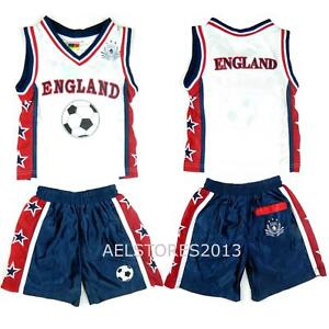 Basketball-Summer-Shorts-Boys-New-Girl-Top-Vest-Kit-Set-Size-Age-0-12-Years-Bnwt
