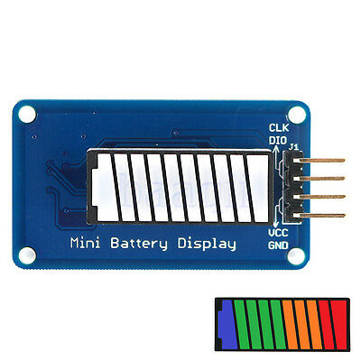 Colour/Green/Red Battery Power LED Bar Display Module 10 Segment For Arduino MA