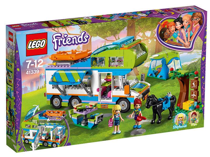 LEGO vänner 41339 - Mias Wohnbilene häftigtes Kinderspielzeug LEGO