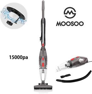 MOOSOO LT450 4-in-1 Corded Vacuum Cleaner 15KPa 450W For Pet Hair Lightweight US