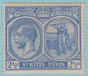 St-Kitts-Nevis-28-Mint-Hinged-OG-No-faults-Extra-Fine