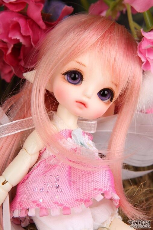1 8 muñeca de BJD SD muñeca Luts Delf tyltyl Elfo Gratis cara Pequeño Maquillaje Ojos + Gratis