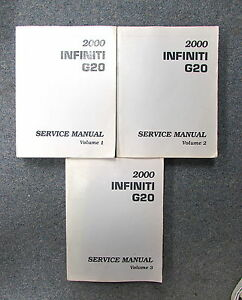 infiniti g20 repair manual