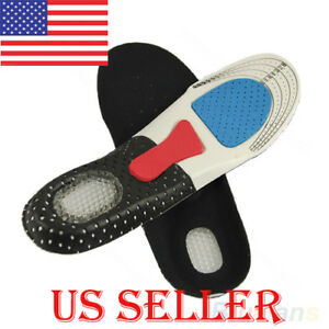 Cushion-Foot-Care-Shoes-Insert-Pad-Sole-Insole-Men-Silicone-Gel-Shoes-Pad