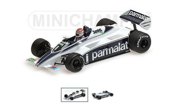 Brabham BMW BT50 – Nelson Piquet – GP FI 1982 Minichamps