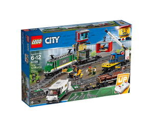 LEGO 60198 RC City Cargo Train blueetooth Remote Control Battery Operated Playset