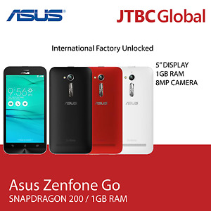 New 5 Inch Zenfone Go ZB500KG 8GB 4G LTE Factory Unlocked Dual SIM Smart Phone