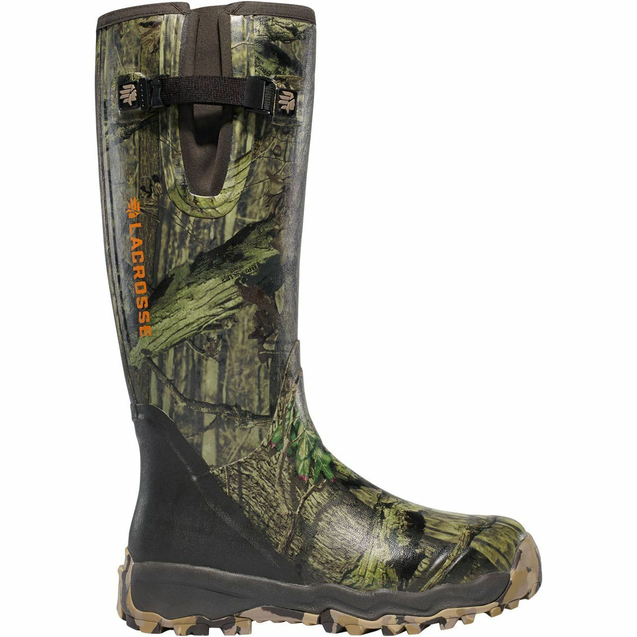 Lacrosse Alphaburly Pro Side Zip Hunting Boot - MOBU Infinity 3760007