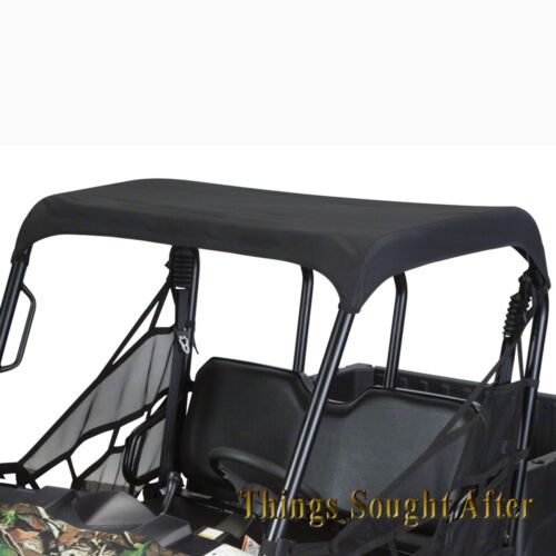 BLACK CANVAS ROOF TOP 2013 POLARIS RANGER MIDSIZE 800 EFI 400 500 /& EV Bimini