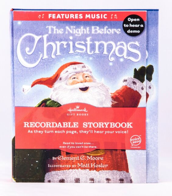 Recordable Christmas Books.Recordable Storybook By Hallmark Gift Books The Night Before Christmas