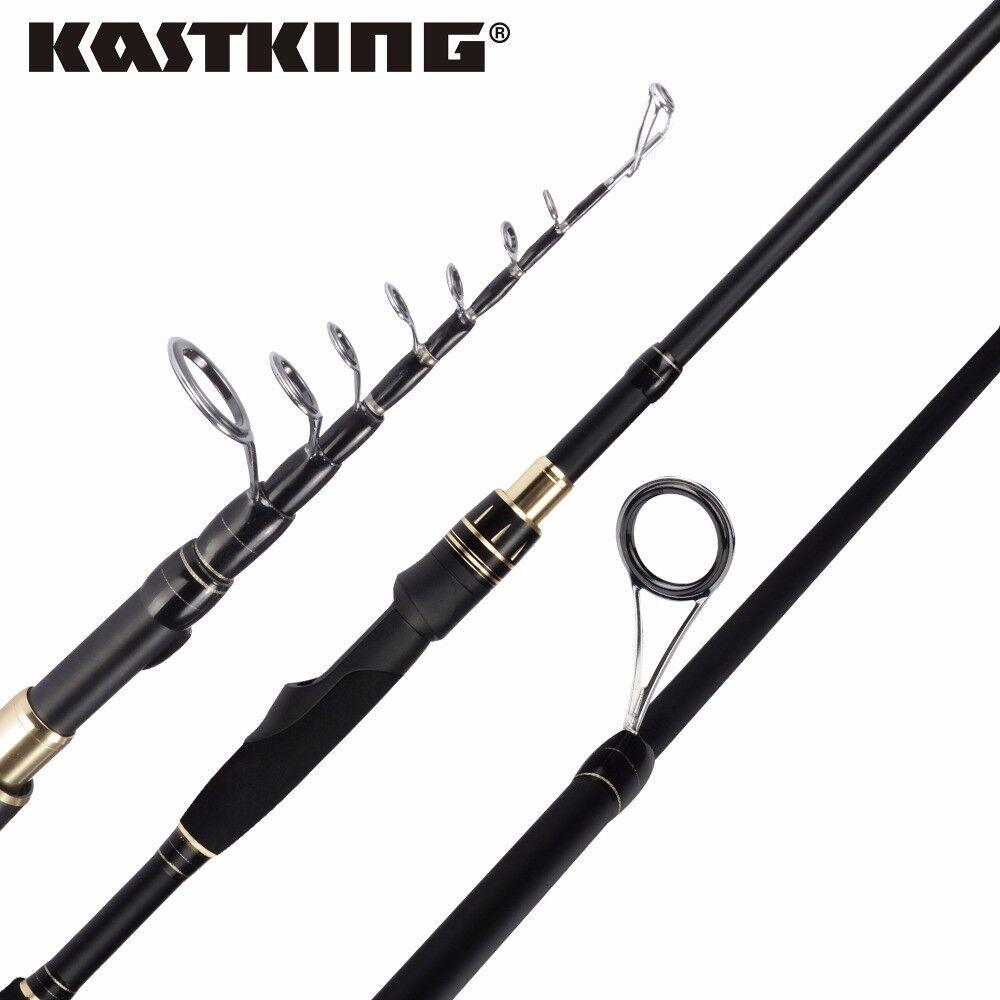 Kastking negrohawk  II Spin caña de pesCoche de Cochebono Varilla Telescópica Pesca Portátil  la mejor oferta de tienda online