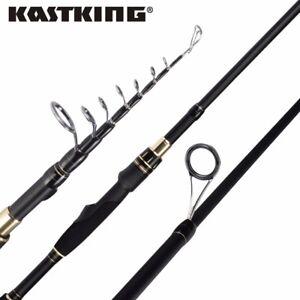 KastKing BlackHawk II Carbon Spin Fishing Rod Portable Telescopic Fishing Rod