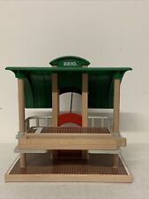 Brio Wooden Train Bus Subway Metro Platform Station Stop Thomas wood Compatible