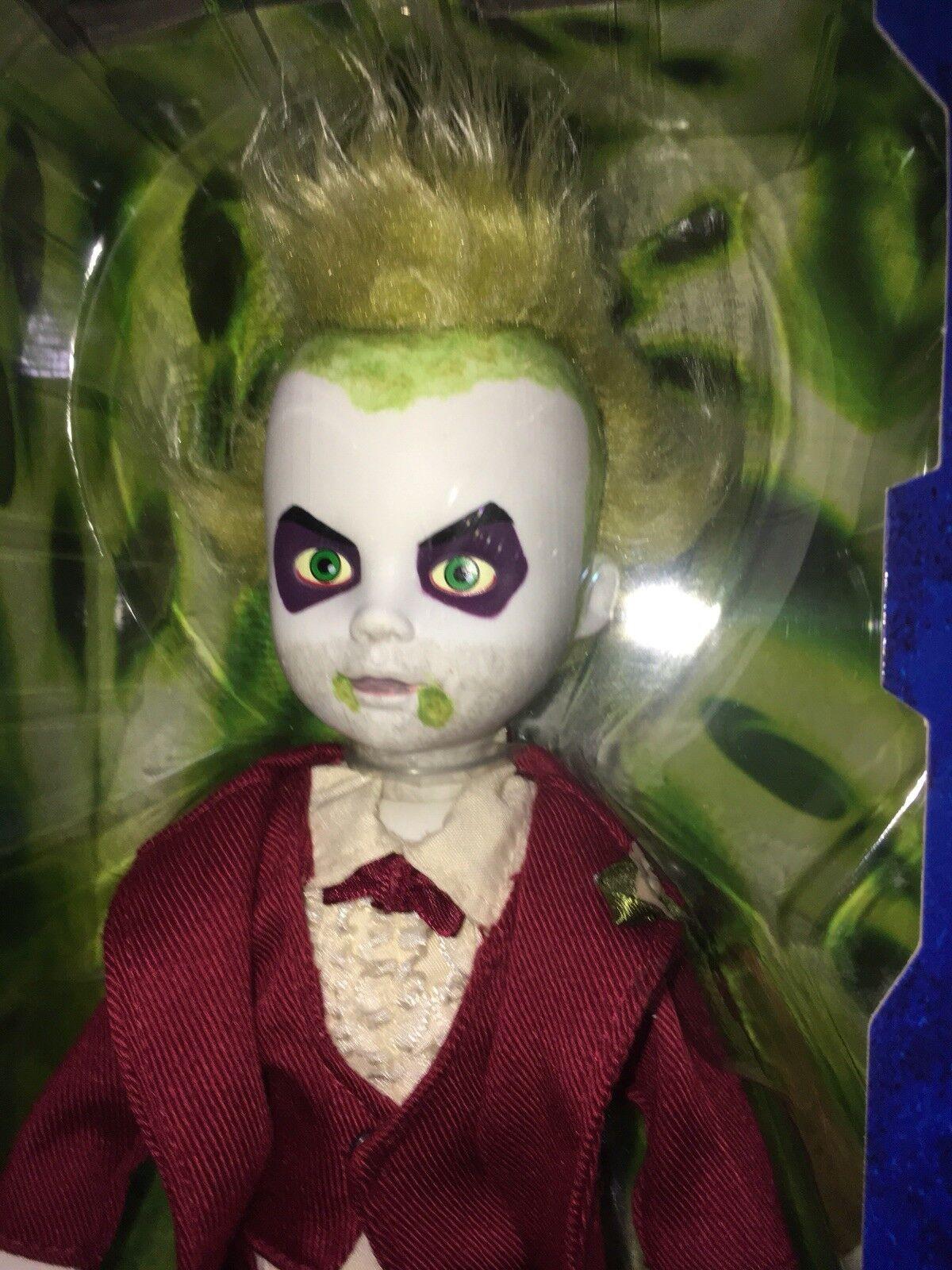 Living Dead Dolls Beetlejuice Esmoquin Rojo Nuevo en Caja Paquete Completo Ldd