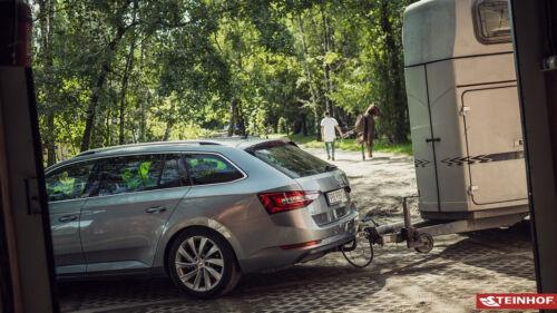 Für Audi A6 C6 Avant auch Quattro 05-11 Anhängerkupplung starr+E-Satz 13p spez