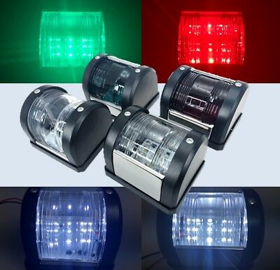Marine Boat Mini Masthead//Starboard//Port Navigation Light 12V LED One Set