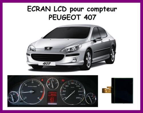 ECRAN Afficheur LCD central ODB COMPTEUR  PEUGEOT 407 407SW et 407 COUPÉ