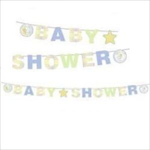 Details About Precious Moments Baby Shower Banner Party Supplies Decorations Neutral Unisex