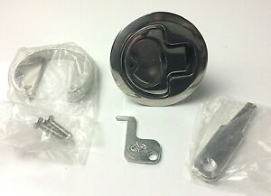 Gem Products Ss Non Locking Compression Lift 2 1//2 Inch Boat Hatch Latch