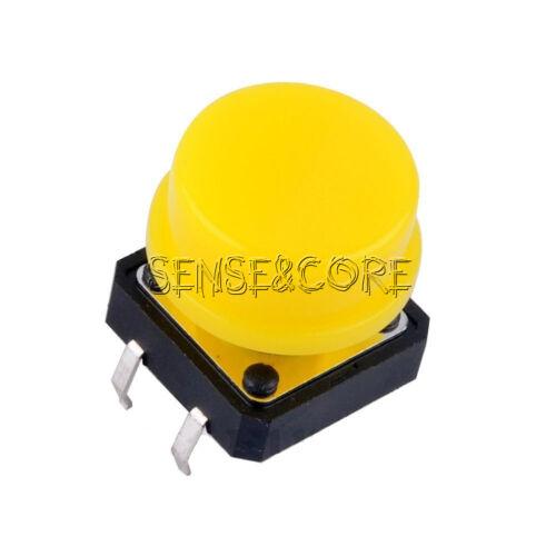 10PCS 12x12x7.3mm 12*12*7.3mm Keyswitch Tact Switch Perfect Microswitch Button