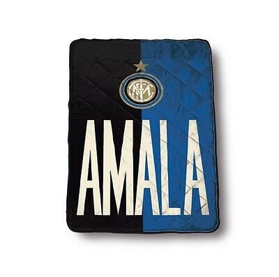 Piumone Matrimoniale Inter.Trapunta Singola Fc Internazionale Amala 160x260 Cm 1 Piazza Inter