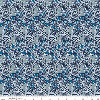 Fat Quarter Liberty Christmas Sparkling Forest Rd Cotton Quilting Sewing Fabric