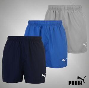 Mens-Puma-Lightweight-Essential-Logo-Shorts-Sports-Bottoms-Sizes-S-M-L-XL