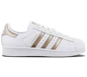 new arrival 8453e e27dd Details zu adidas Originals Superstar W Damen Sneaker CG5463 Weiß Leder  Schuhe Turnschuhe