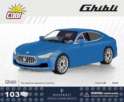 #24564 - Cobi Maserati Ghibli-blu - 1:35-mostra Il Titolo Originale Rendere Le Cose Convenienti Per I Clienti