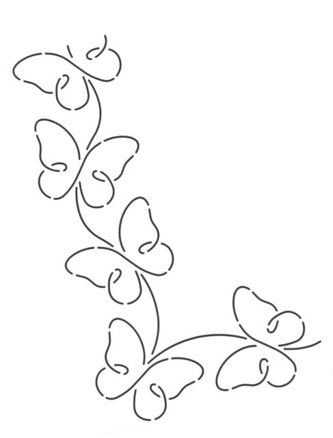 2 Quilting Creations Border Design Quilt Stencil