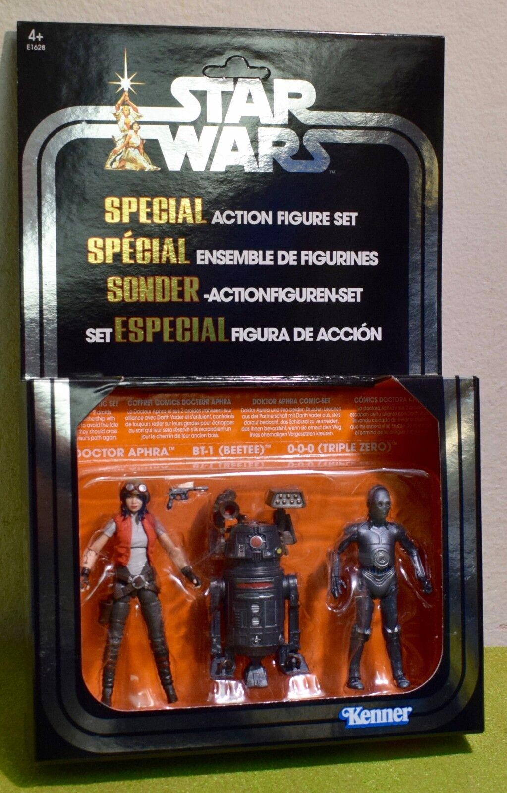 STAR WARS VINTAGE COLLECTION VC 3 PACK DOCTOR APHRA BT-1 BEETEE 0-0-0 TRIPLE ZER