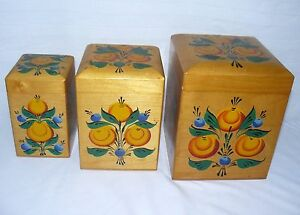 Wood-Nesting-Box-Canisters-Russian-Set-Of-3-Hand-Painted-7-1-2-034