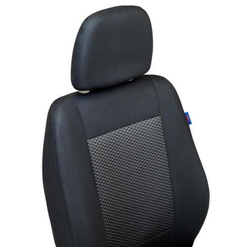 Schwarze Sitzbezüge für AUDI A6 Autositzbezug VORNE NUR FAHRERSITZ