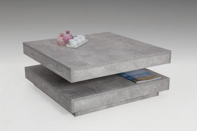 Apollo 004408 Beton Couchtisch - Grau