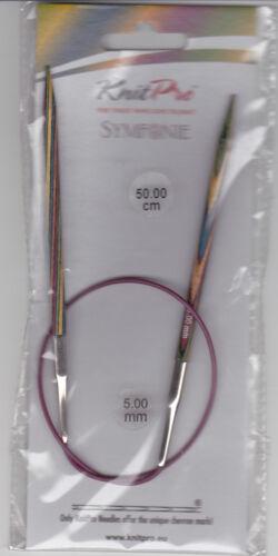 12 mm Nadelstärke Knit pro Rundstricknadeln 50 cm von 3,0 mm