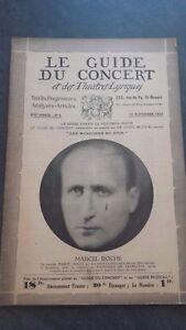Revista-Le-Guia-de-La-Concierto-Y-Las-Sketches-Letra-1929-N-9-M-Roca