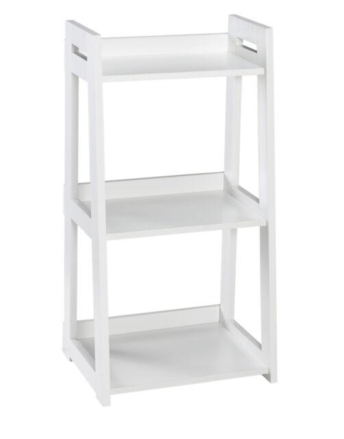 the best attitude 2cf23 5e472 ClosetMaid 3314 No-Tool Assembly Ladder Shelf, Narrow 3-Tier, White