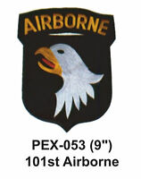 101st Airborne Embroidered Military Extra Large Patch (9)