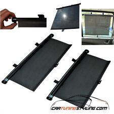 Pair 55cm Car Window Sun Shade Roller Blind Screen Protector Sun Visor Baby Sun