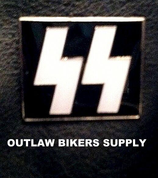 """WWII """"SS German"""" pin  [SS SCHUTZSTAFFEL BOLTS]"""