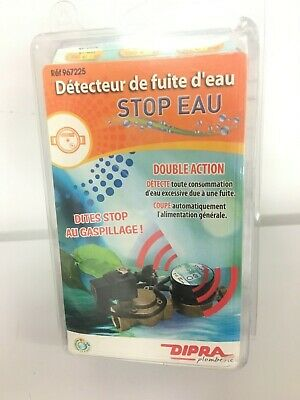 Dipra 967225 D/étecteur de fuite STOP EAU Laiton