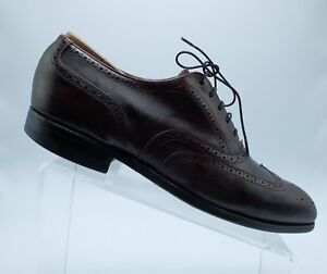 Austin Reed Mens Wingtip All Leather Ox Blood Oxford Lace Up Shoes Size 10m Usa Ebay