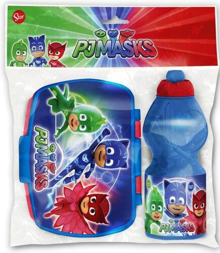 PJ Masks Super Pigiamini zainetto zaino Trolley in 3D,Sacca Sport,Set Colazione