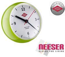 Wesco Küchenuhr mini clock Stylische Uhr mit eingebautem Timer Grün 322411-20