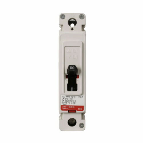 EATON EHD1100 CUTLER-HAMMER WESTINGHOUSE F-FRAME 1 POLE 100 AMP EHD BREAKER