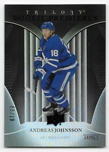 18-19-UPPER-DECK-TRILOGY-ROOKIE-PREMIERES-BLACK-61-Andreas-Johnsson-67-99