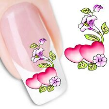 FD1621 Elegant 3D Design Beauty Nail Stickers Nail Art DIY Stickers Decals Heart