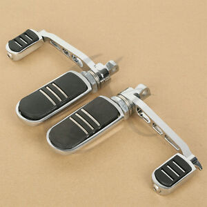 1-pair-Anti-Vibe-Foot-Pegs-With-Heel-Rest-Fit-For-Harley-Sportster-XL-883-1200